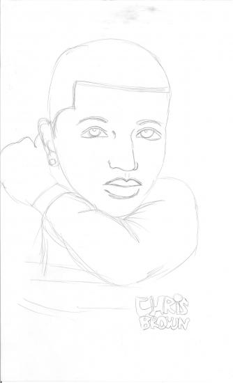 Chris Brown par Babybell